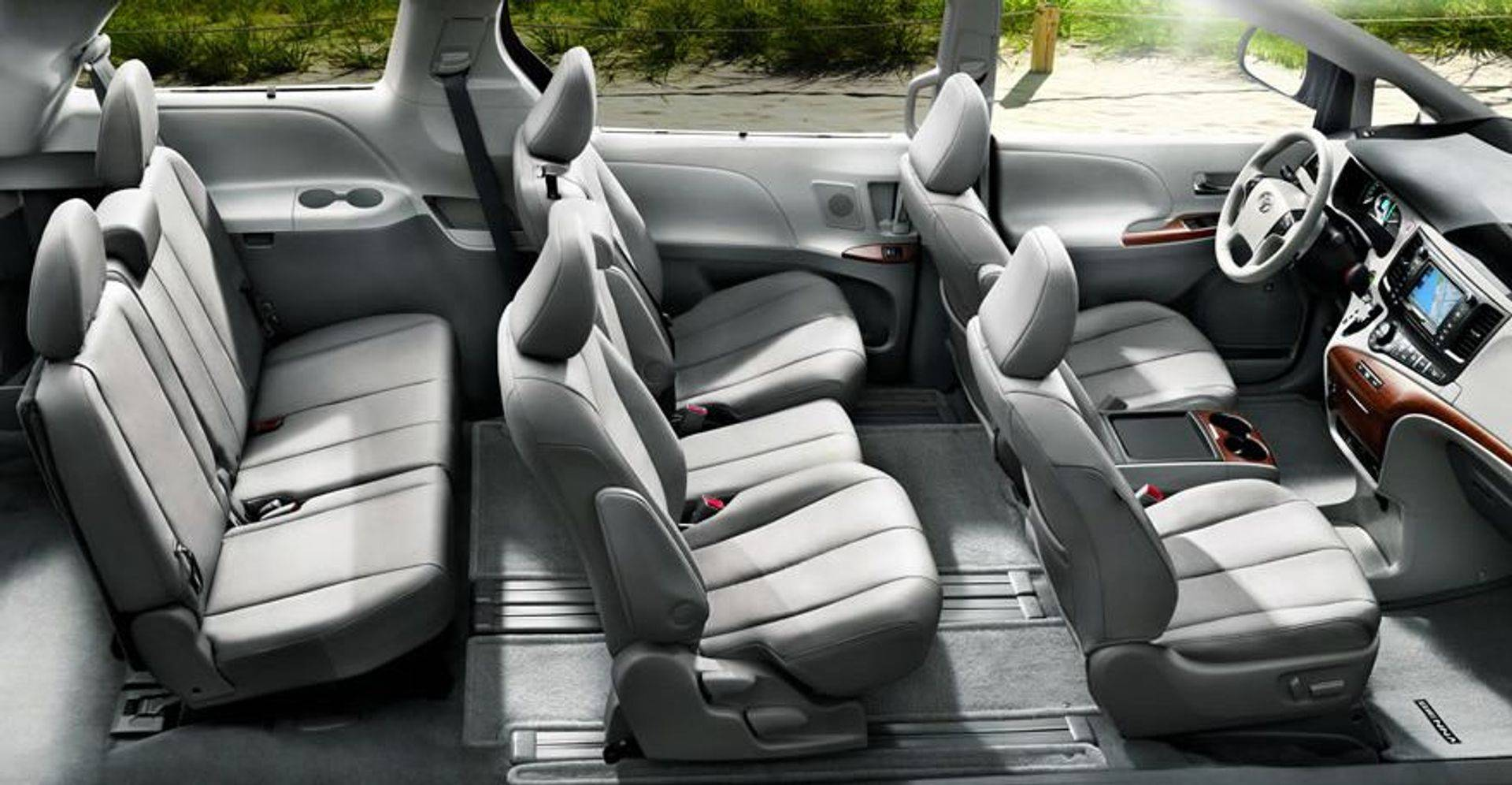 Toyota Sienna 2013 Inside