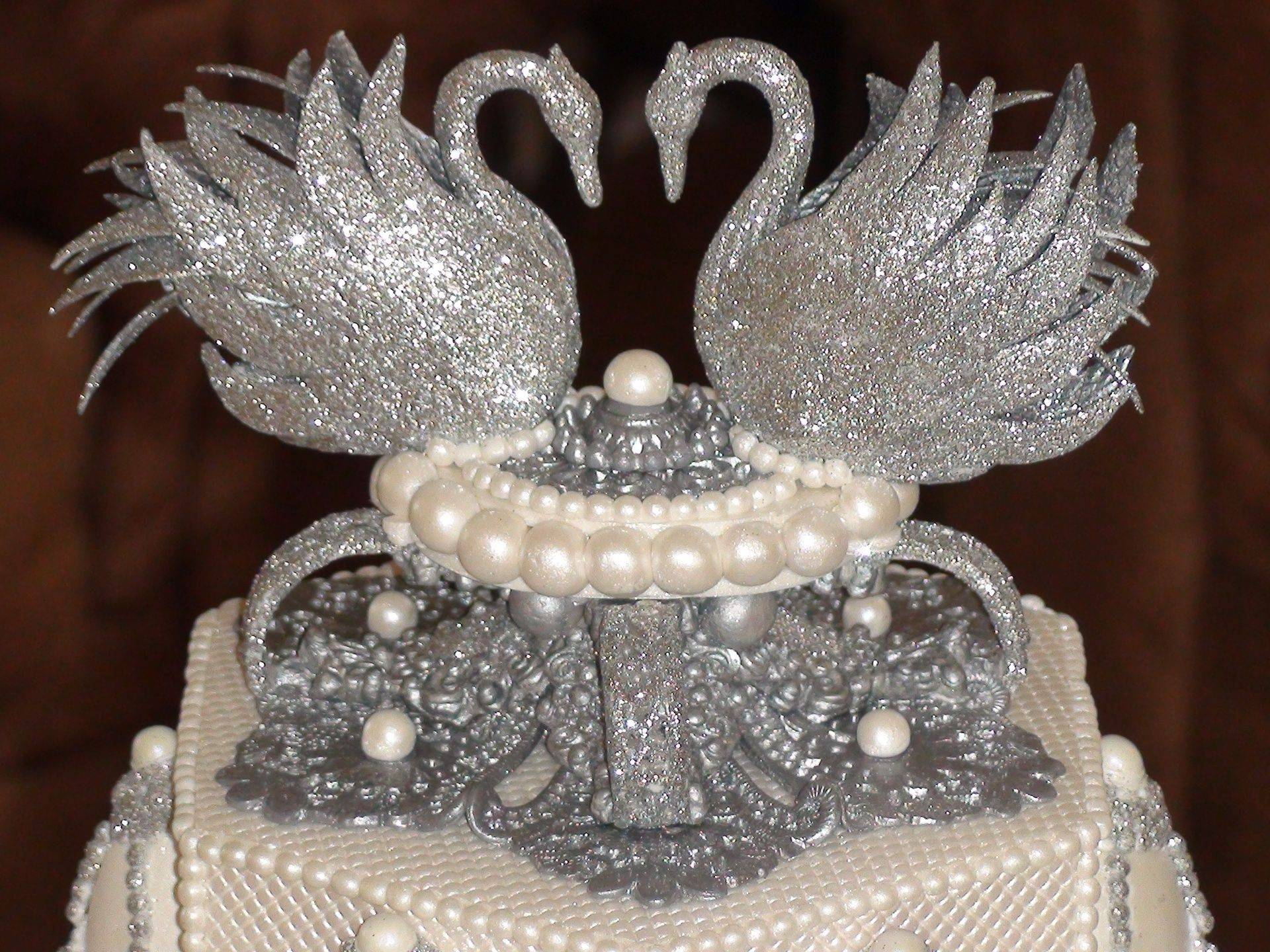 Faberge Egg Wedding cake topper