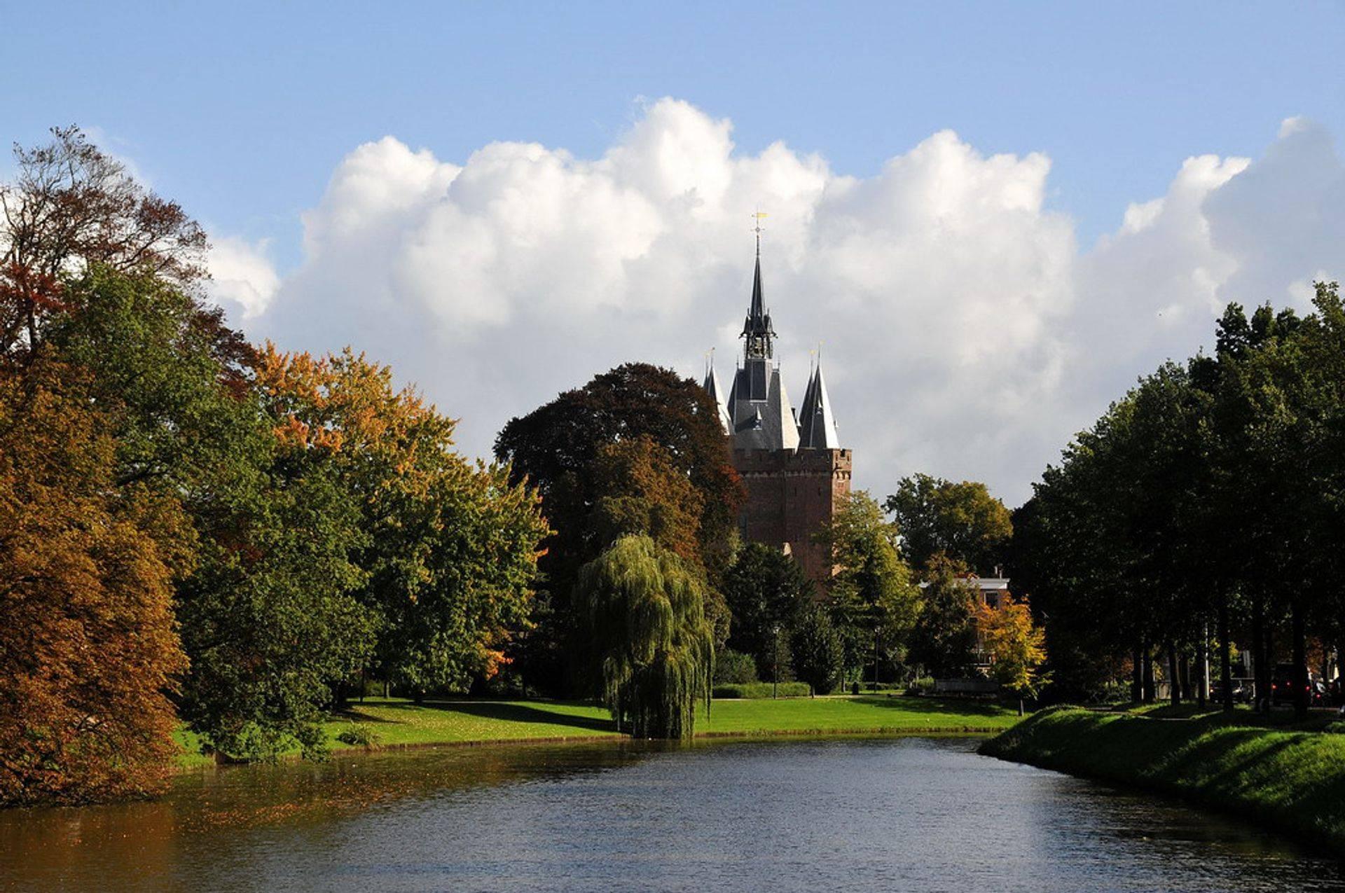 Park bij de Sassenpoort Zwolle