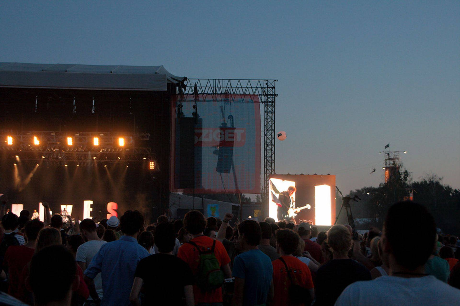 Placebo perform live to a packed festival crowd Serbia