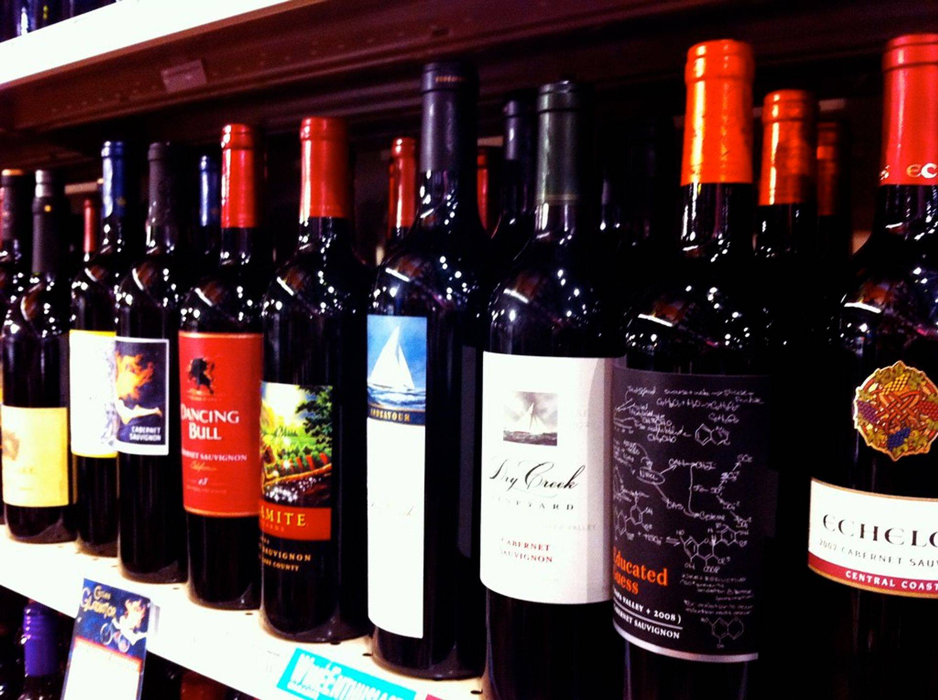 Wines from California, Georgia, South America, Oregon and more