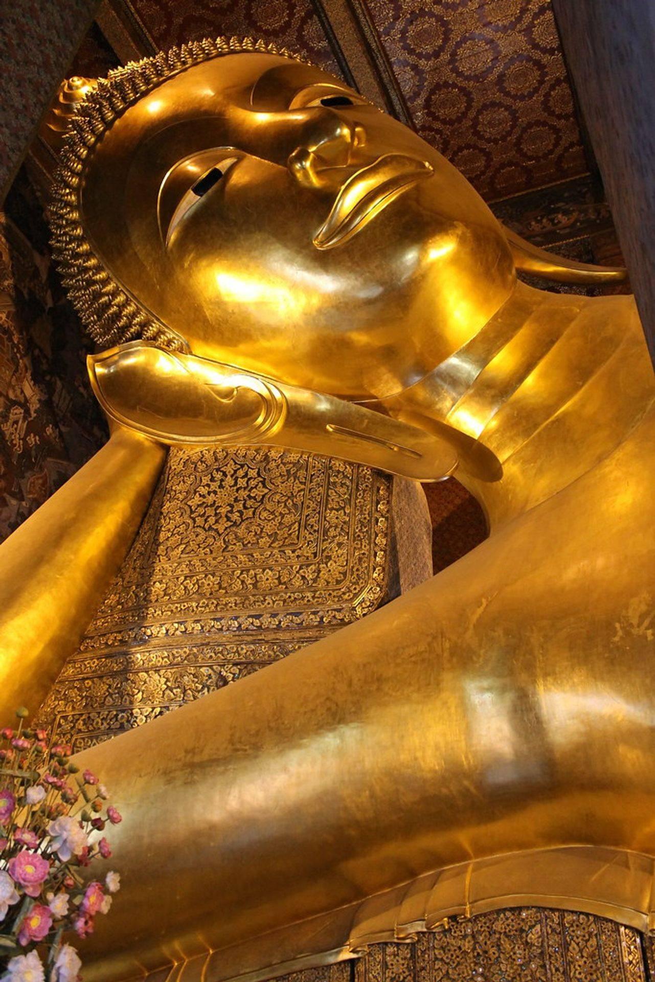 Bangkok - Bouddha couché