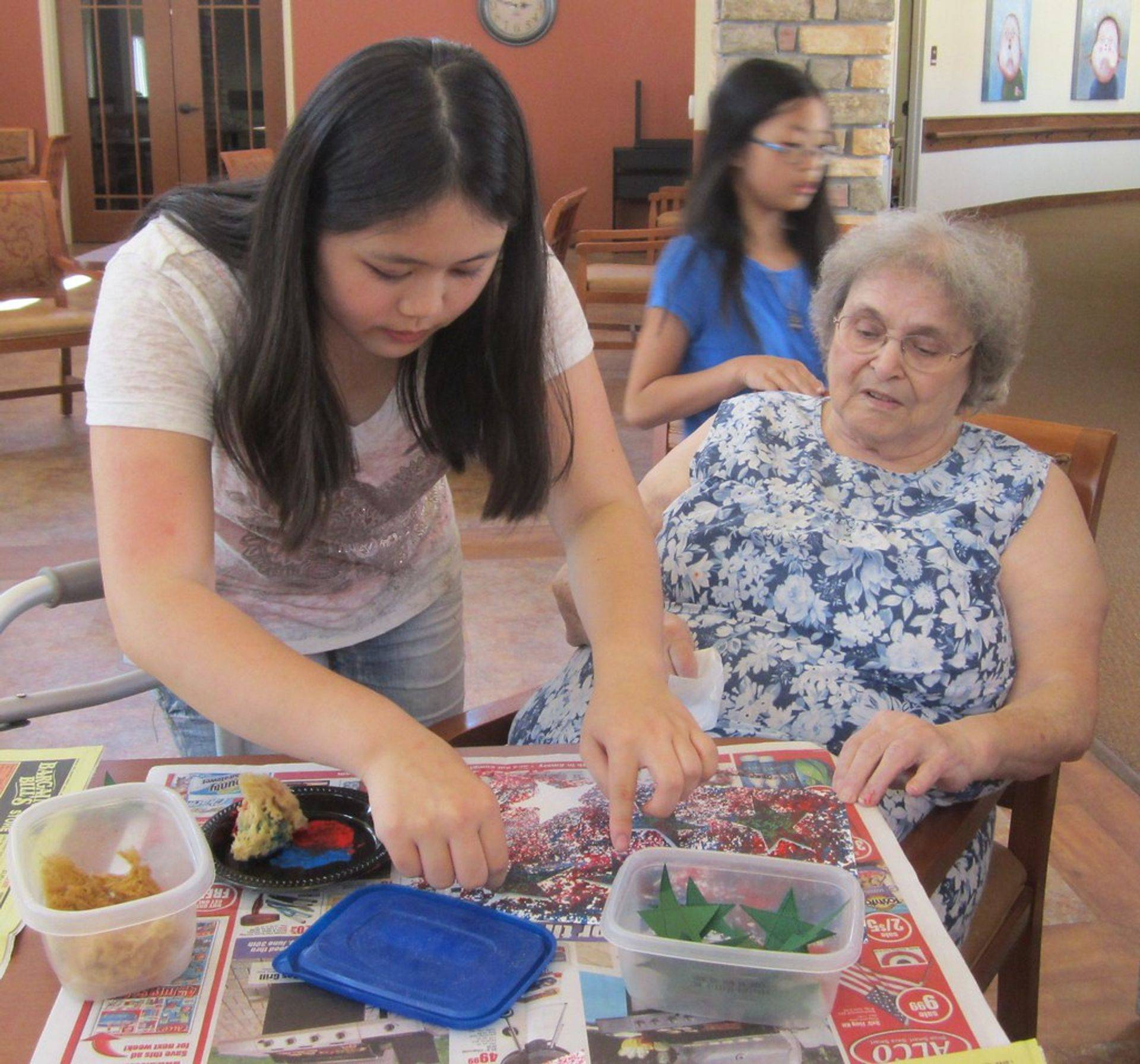 Family, caregiver and patients