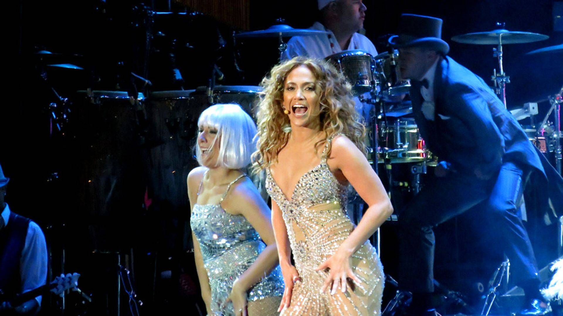 Jennifer Lopez performs her live show to a sell out US crowd