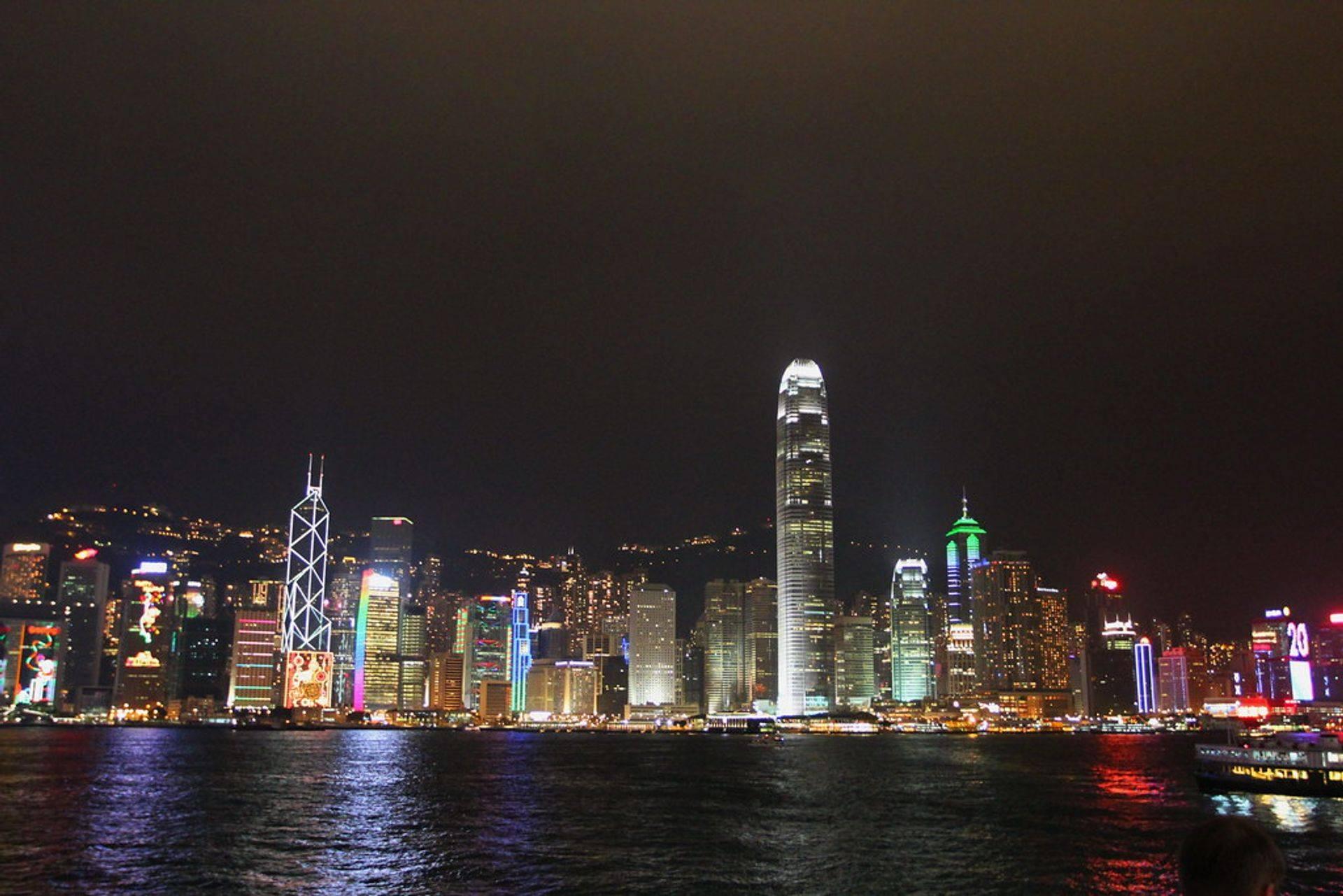 •hong kong night views