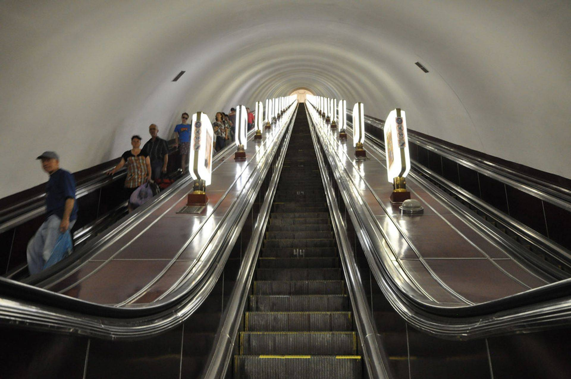 escaping the dark using the escalator