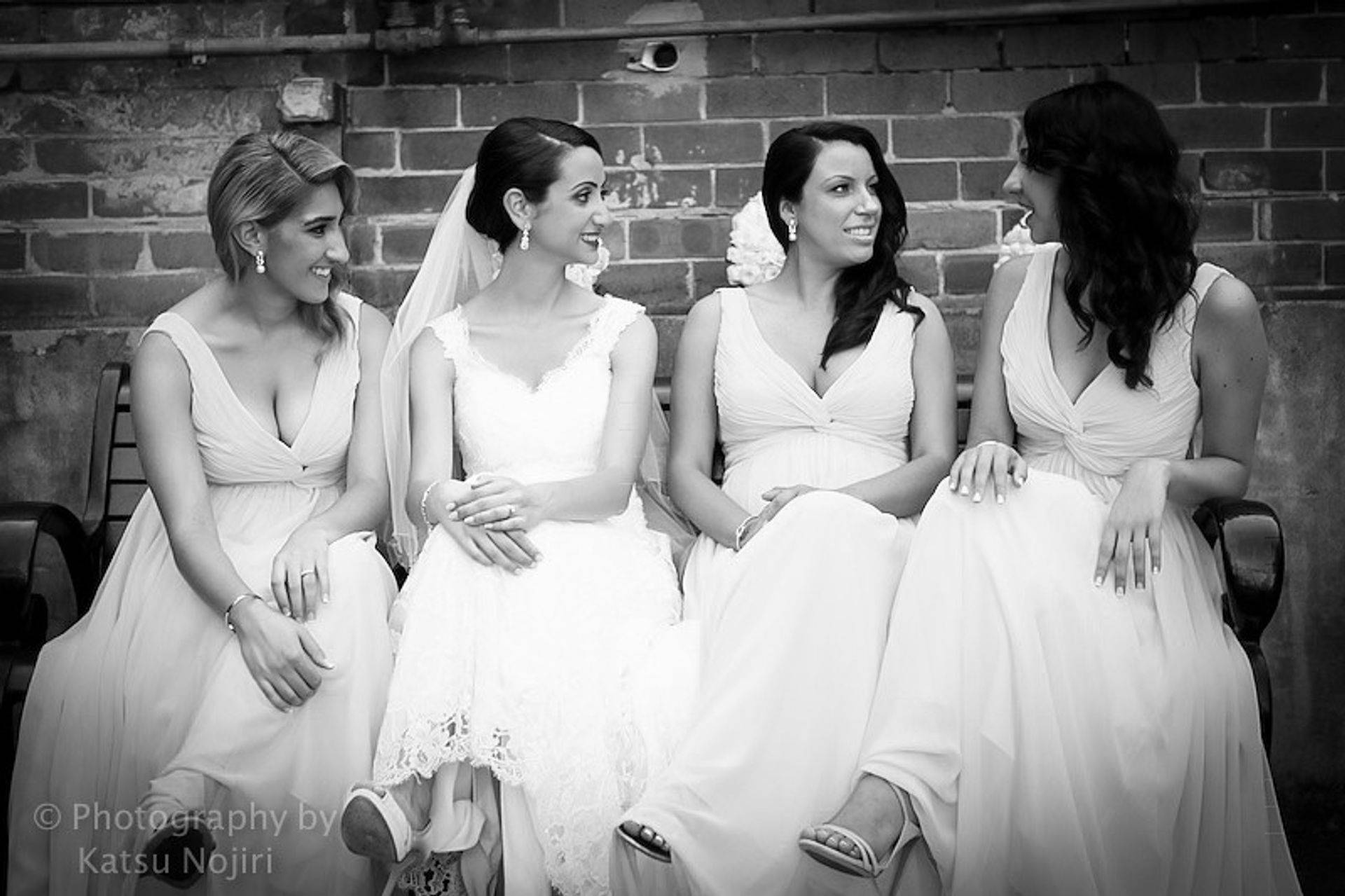 Grand Rapids bridal party