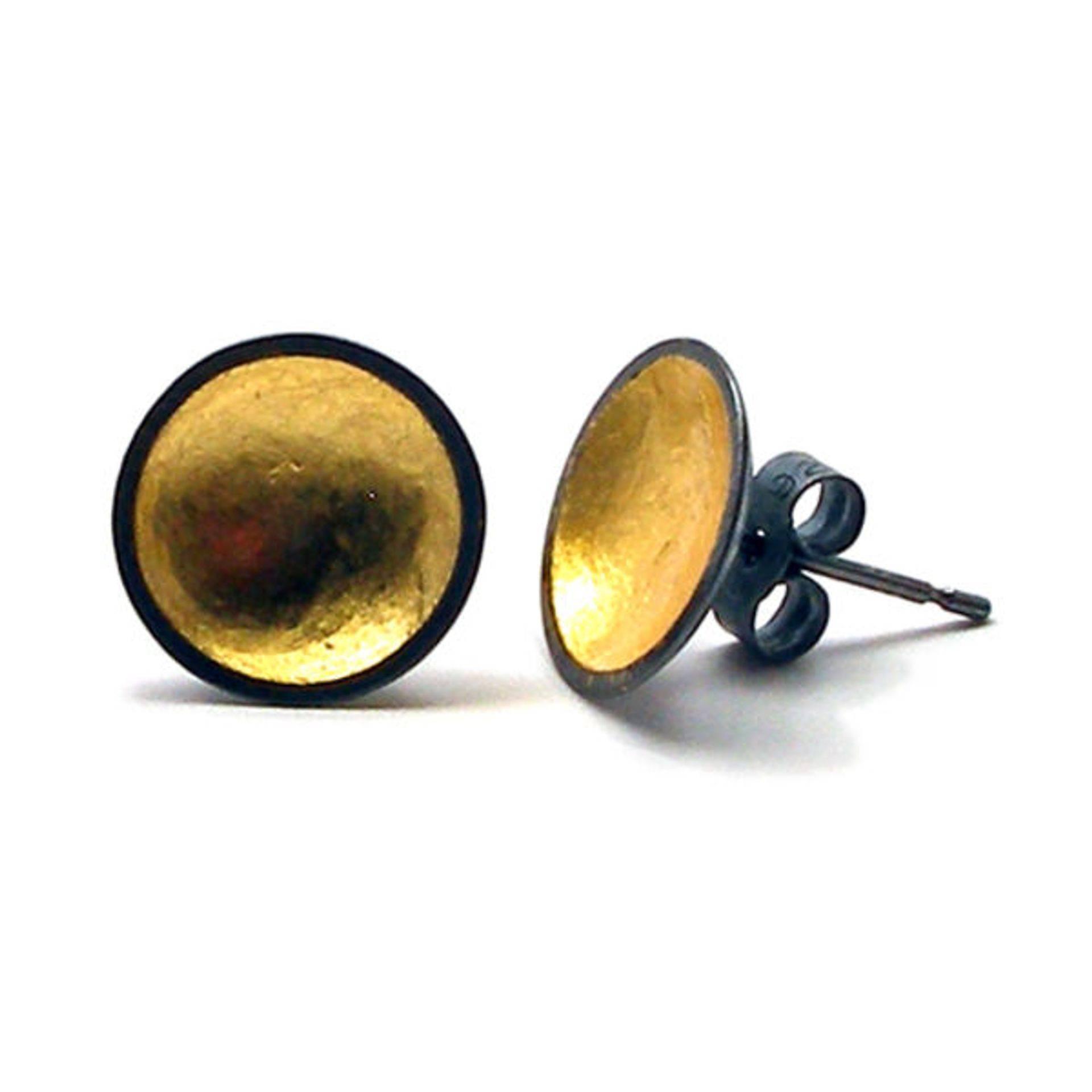 Oxidised silver ringd