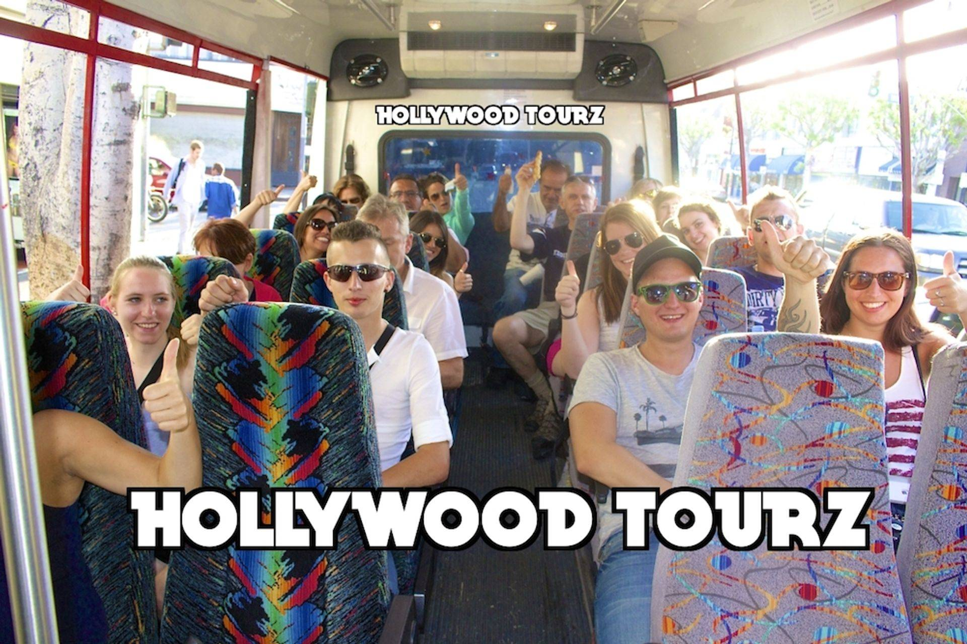 Hollywood Open Bus Sightseeing Tour of Los Angeles California