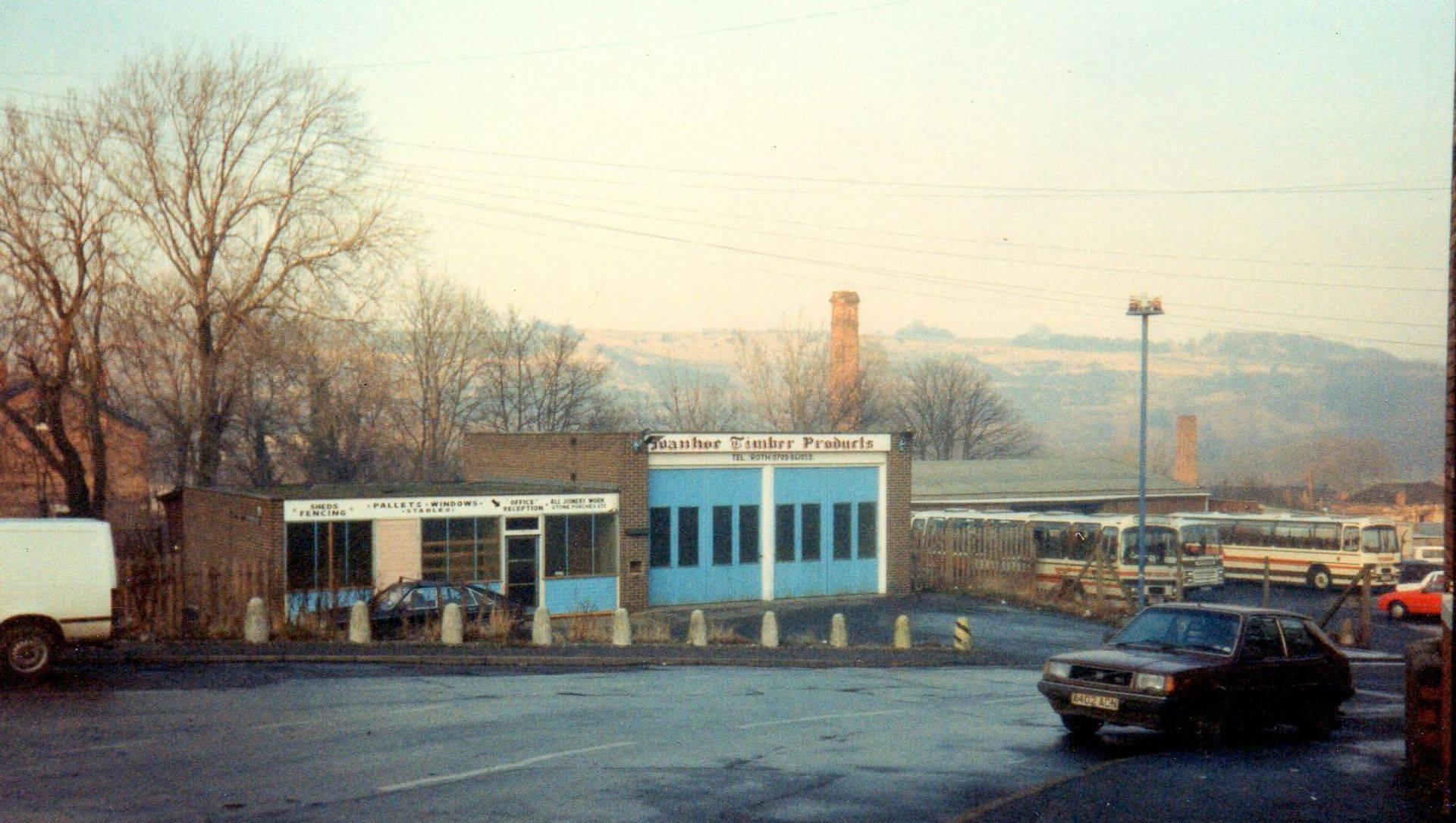 Old Fire Station Burcroft Hill Conisbrough