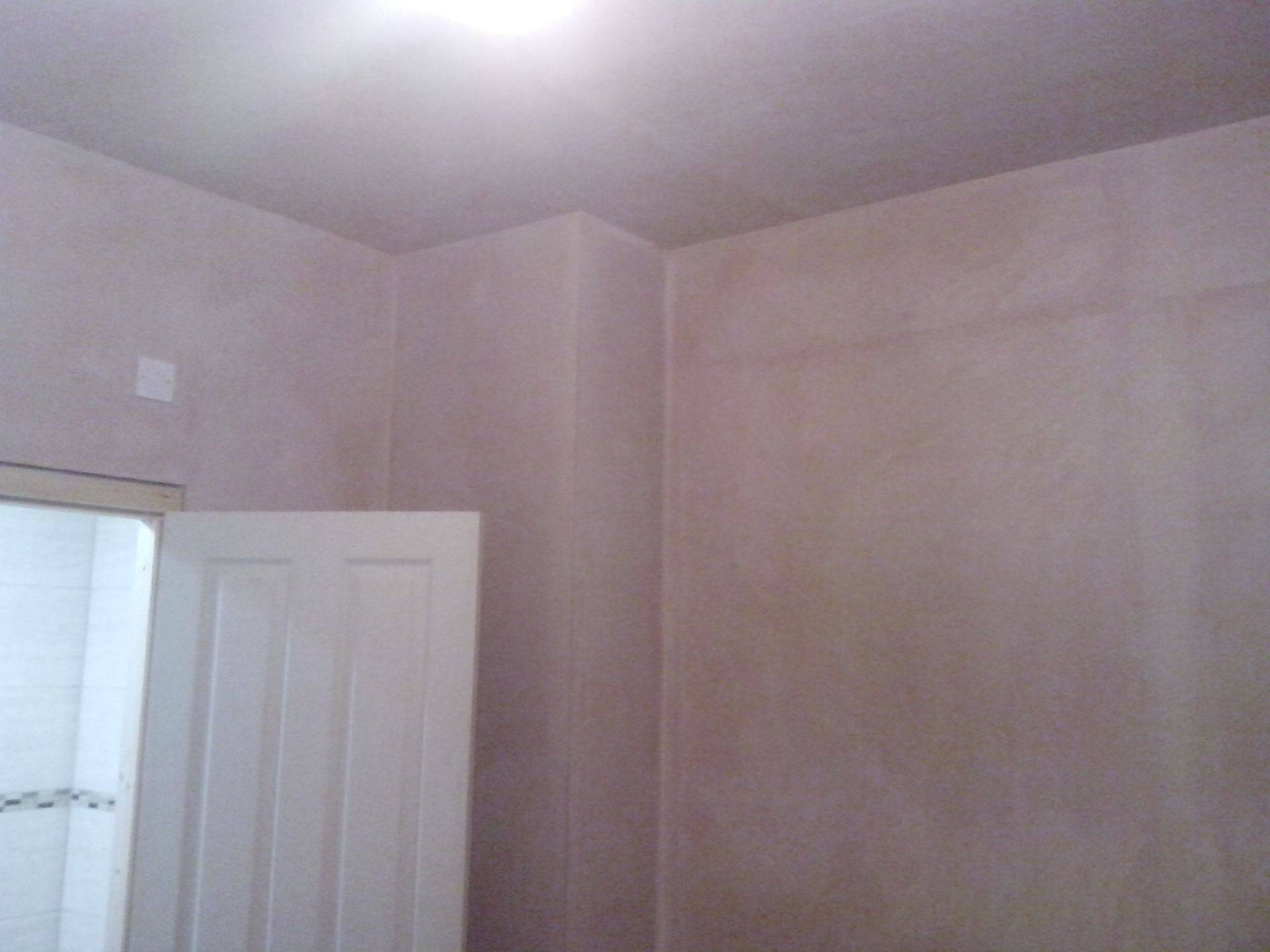 Bedroom has ensuite built and thermaline boards used to produce cavity.