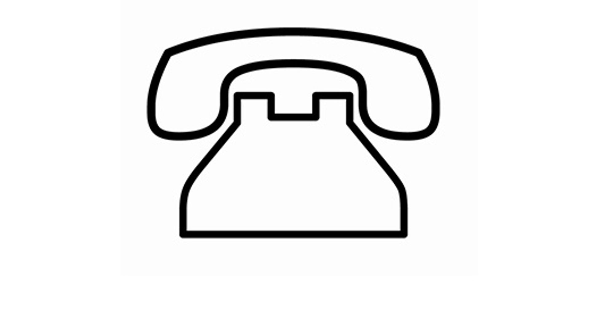 Phone number logo
