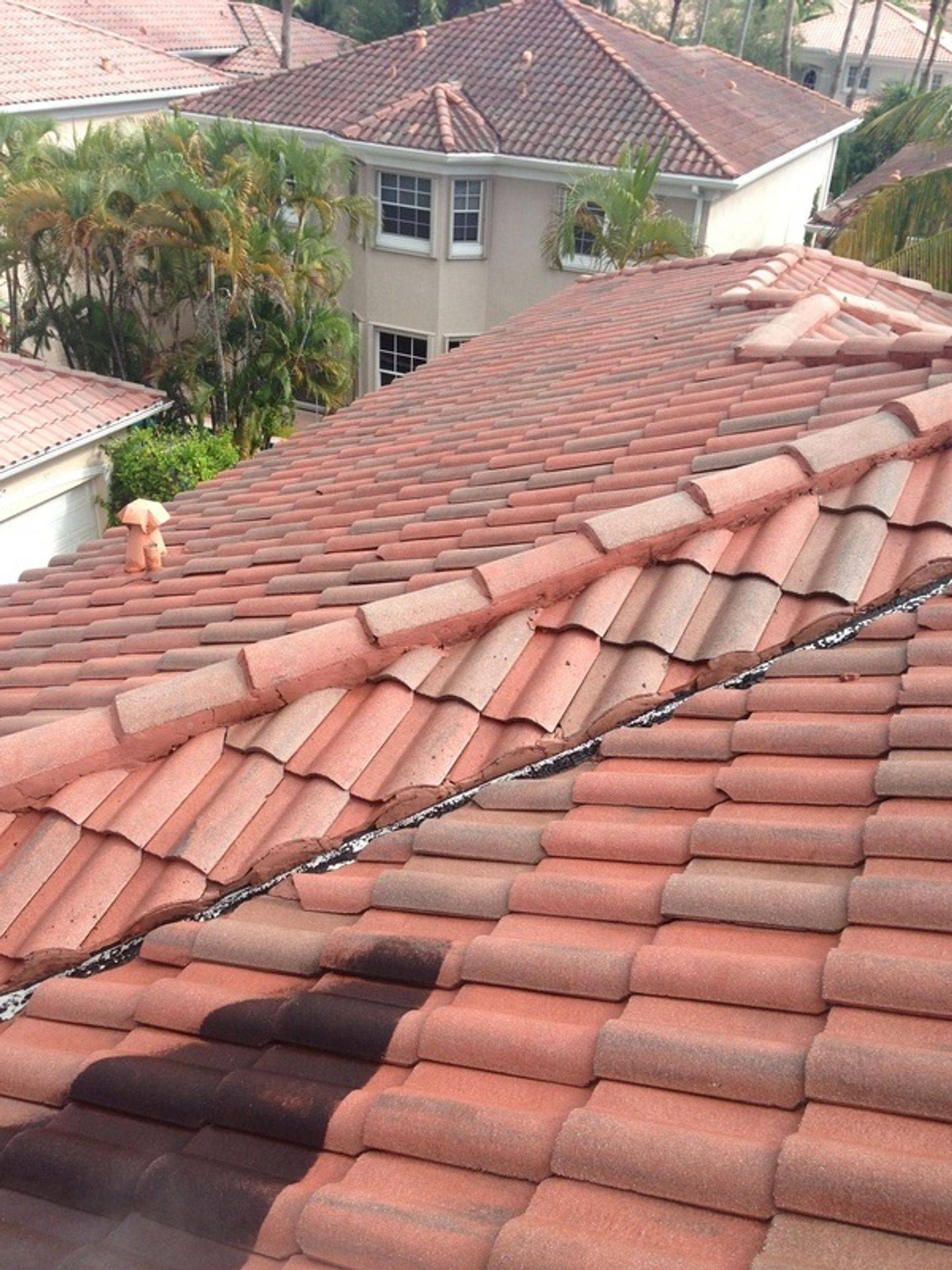 AR&D Inc. Roof Cleaning Services.