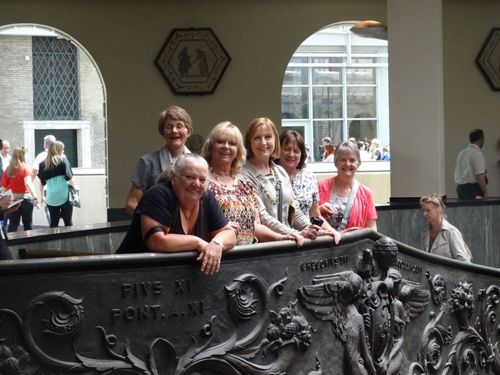 alt= Travel group Vatican Museum
