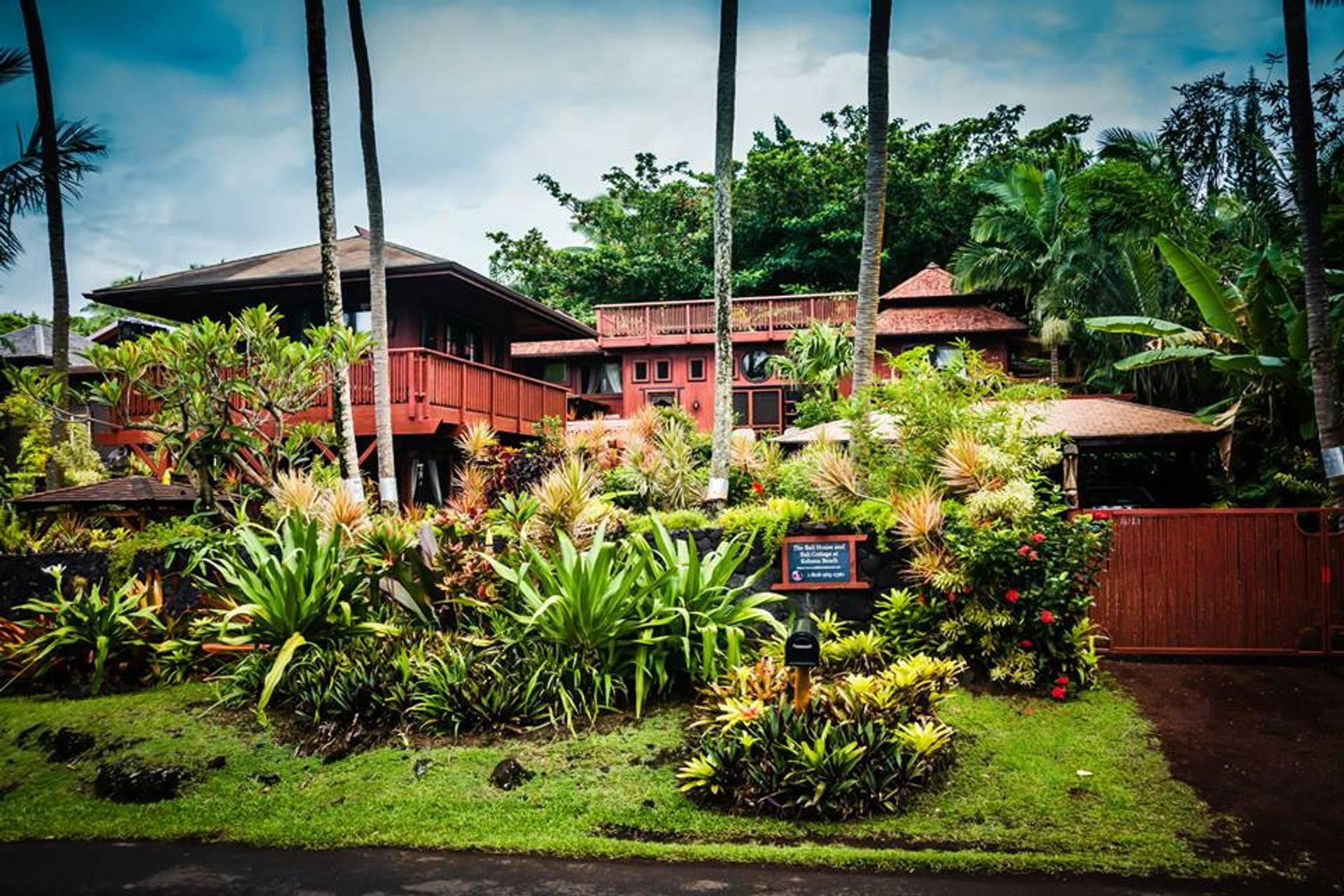 The Bali House & Cottage at Kehena Beach Hawaii