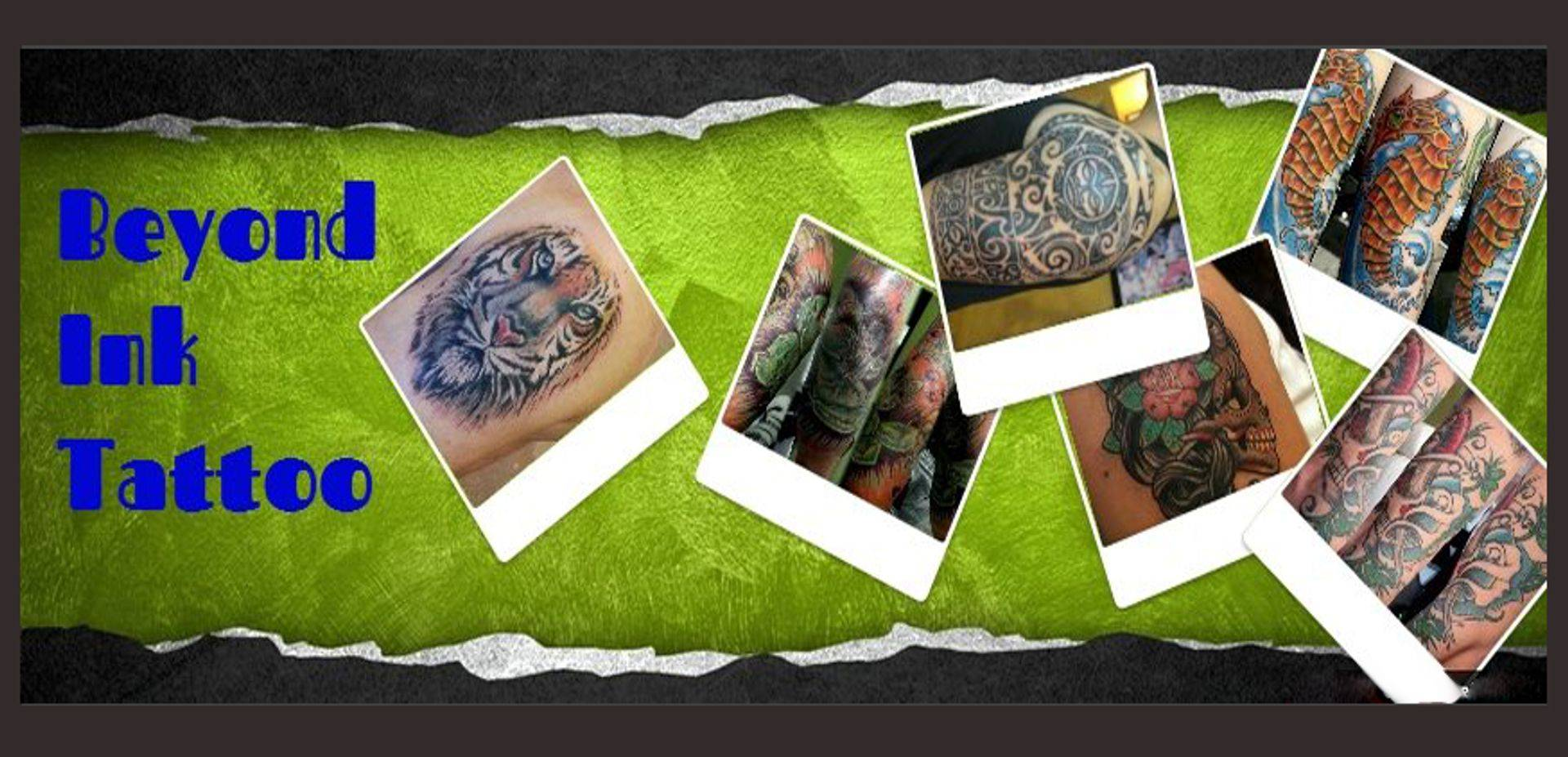 home page tattoo collage