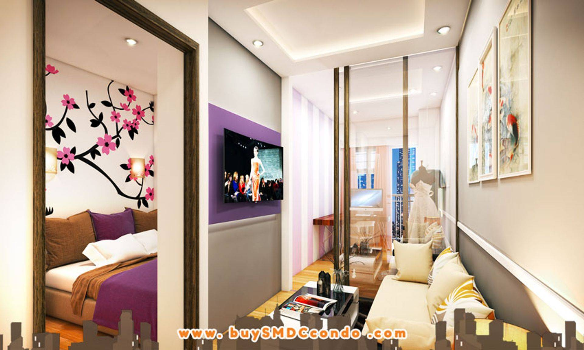 SMDC S Residences SM Mall of Asia Pasay City Condo Model Unit