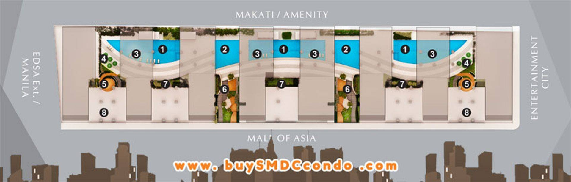 SMDC S Residences SM Mall of Asia Pasay City Condo Site Development Plan