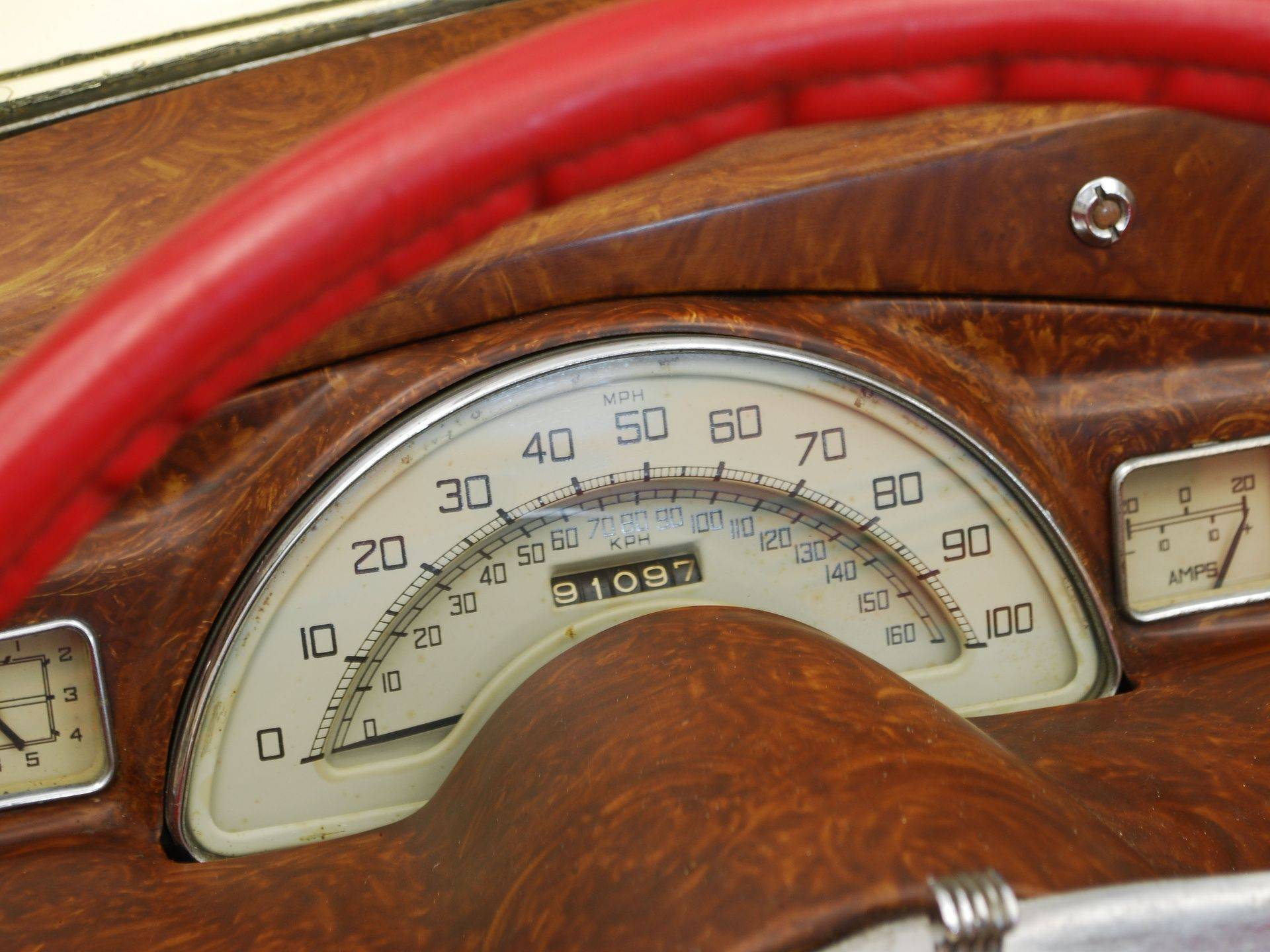 1950 Sunbeam Talbot Mk1 dashboard