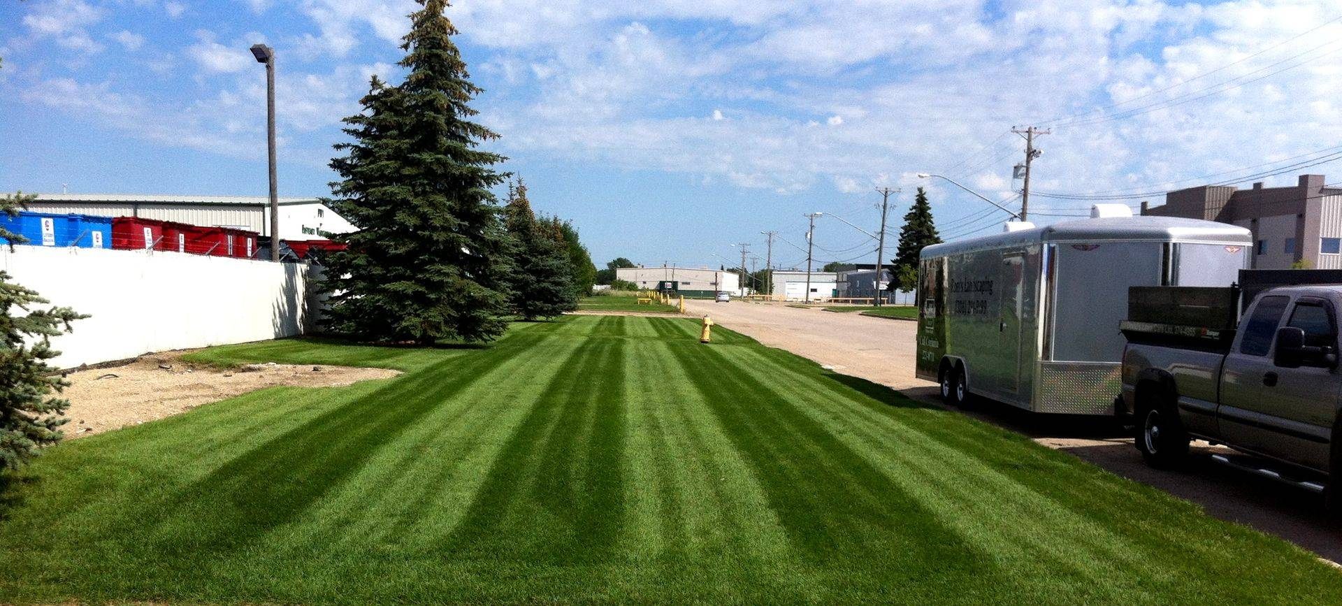 commercial customer lawn