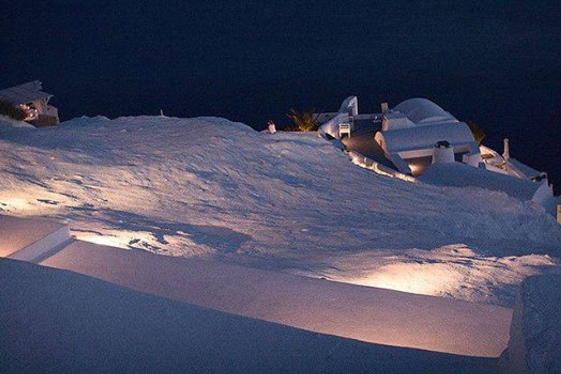 Santorini  White, as you have never seen, January 2015