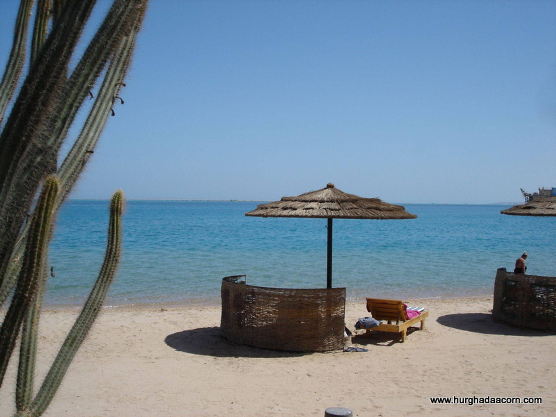 Local Beach in Hurghada
