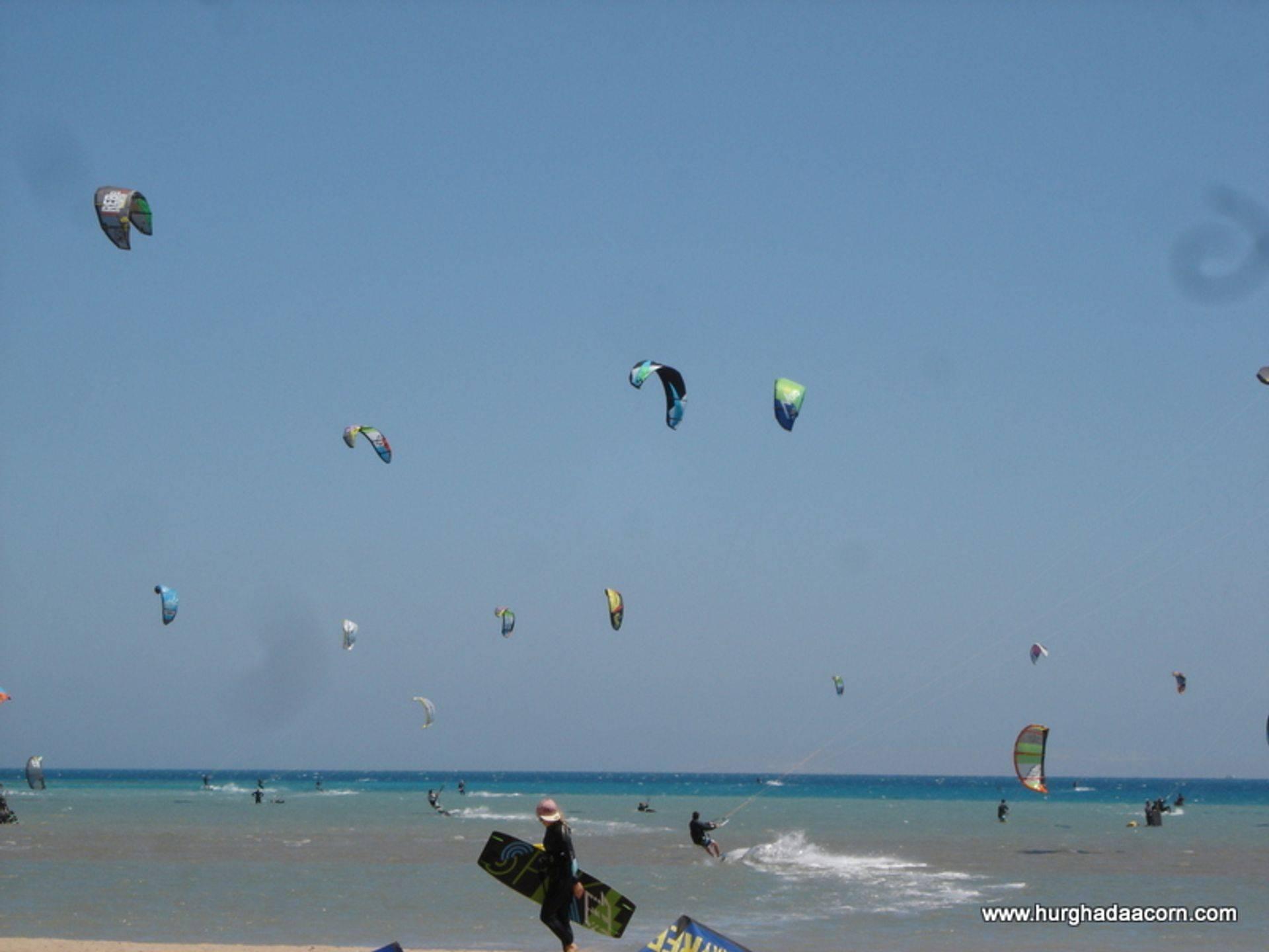 Kite Surfing in Hurghada