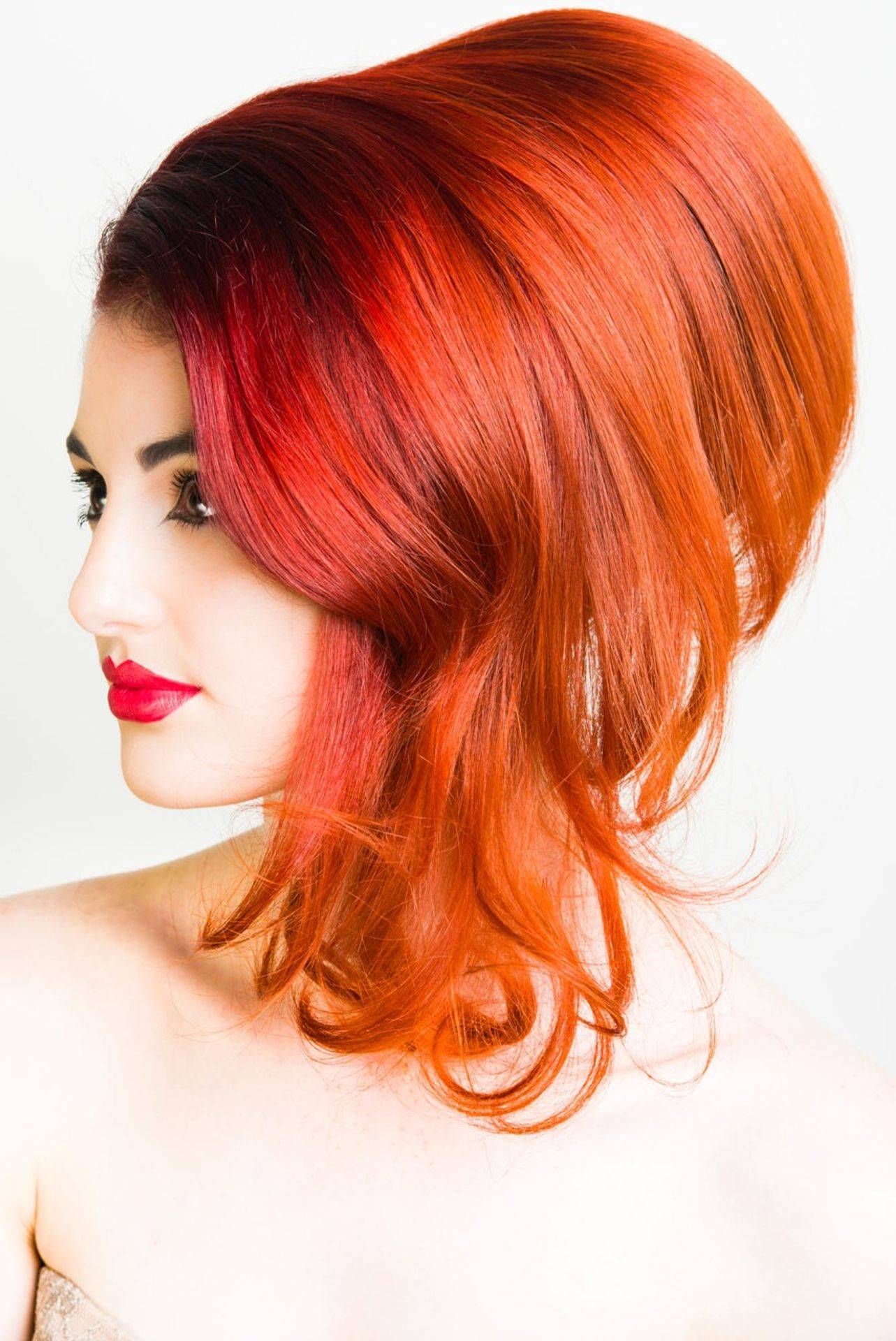 Local models used in all our marketing and images Candy hair up.
