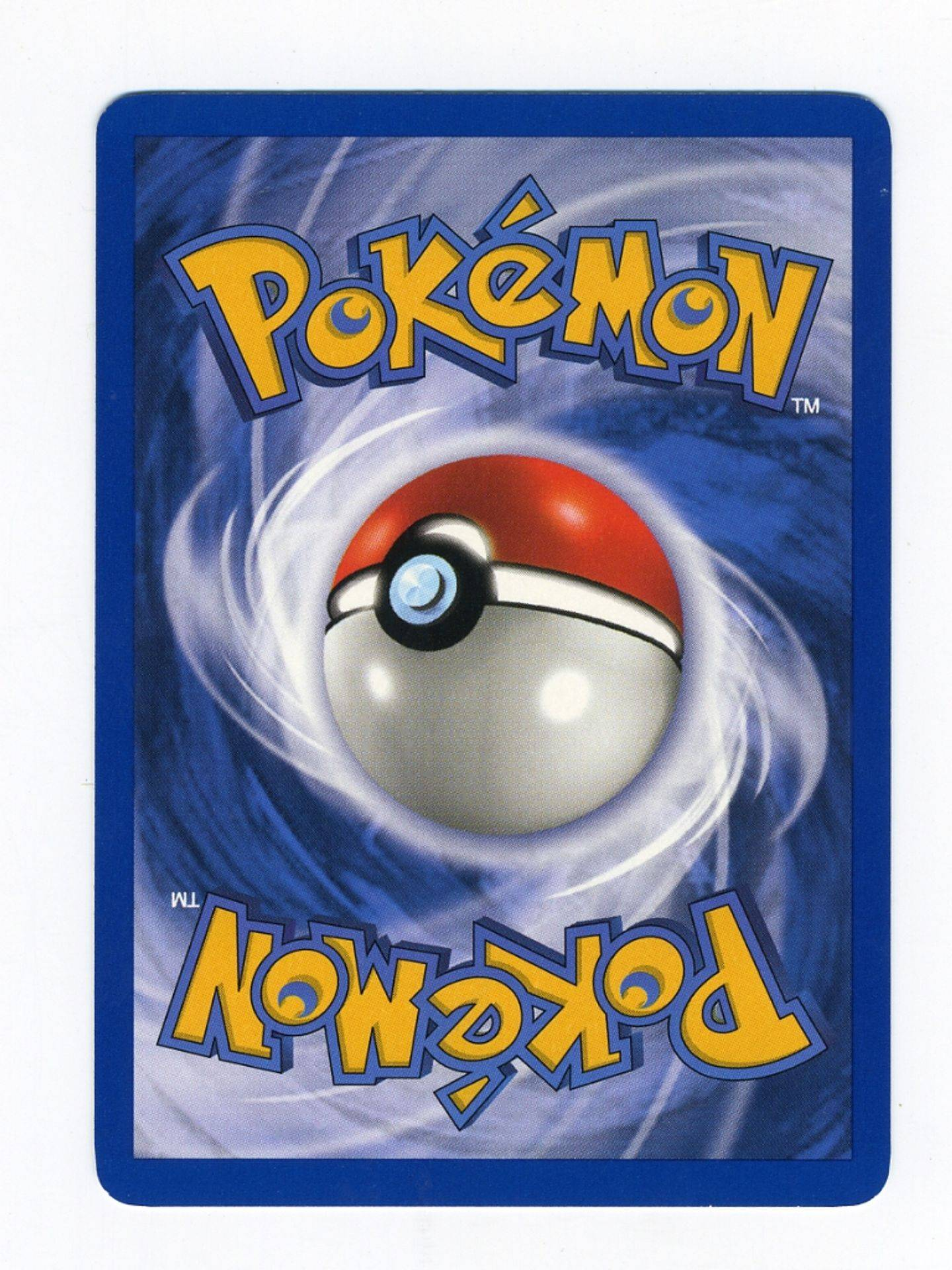Pokemon TCG Card Back
