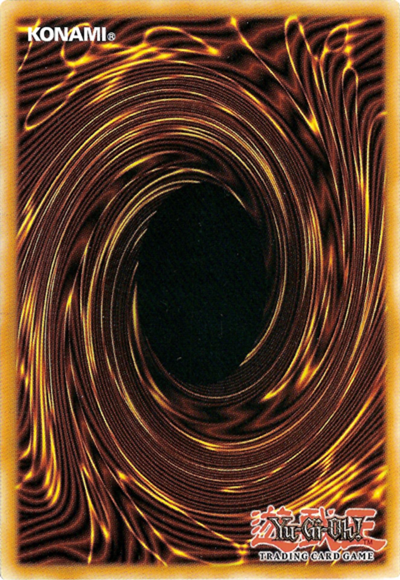 Yugioh TCG Card back