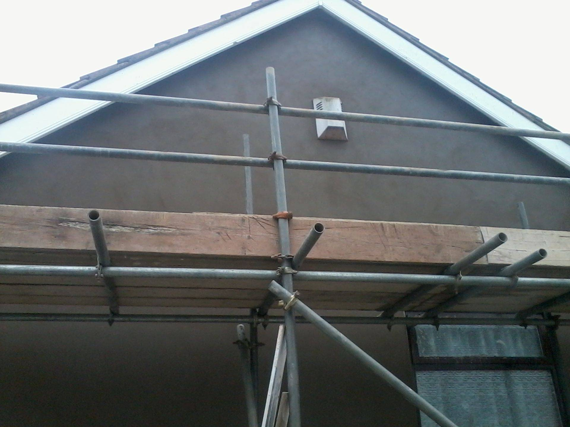 Rendering with sand and cement in gornal, dudley