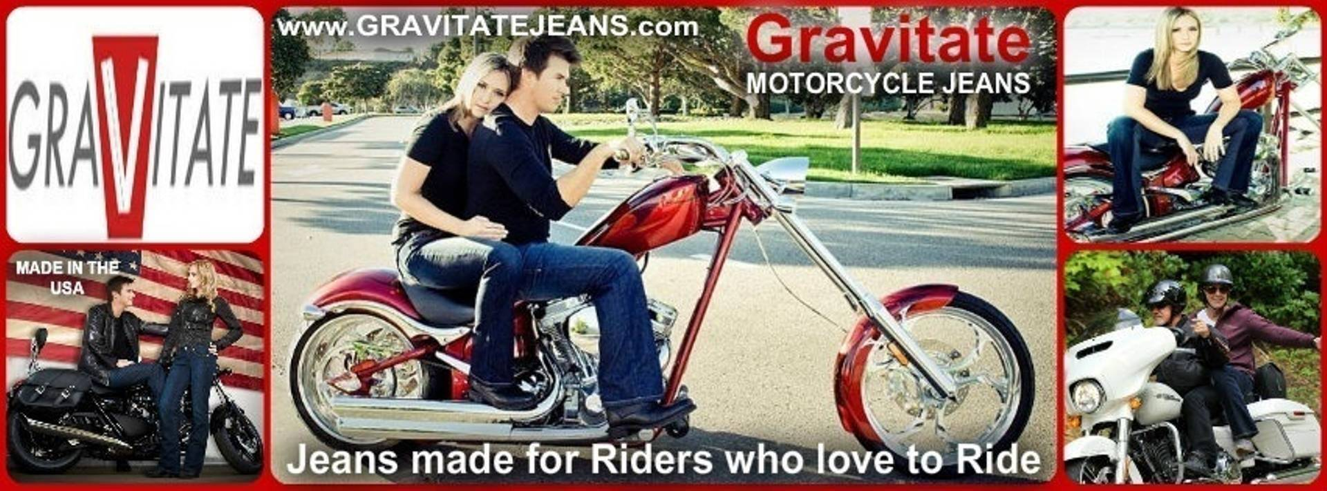 Gravity Jeans Motorcycle rider jeans