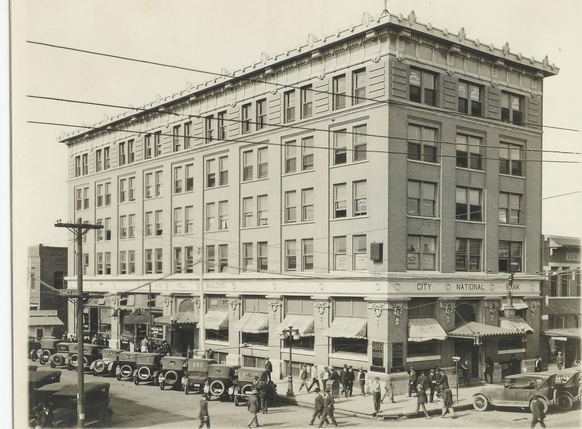 Circa 1919 when The Holt was the Kemp-Kell Building