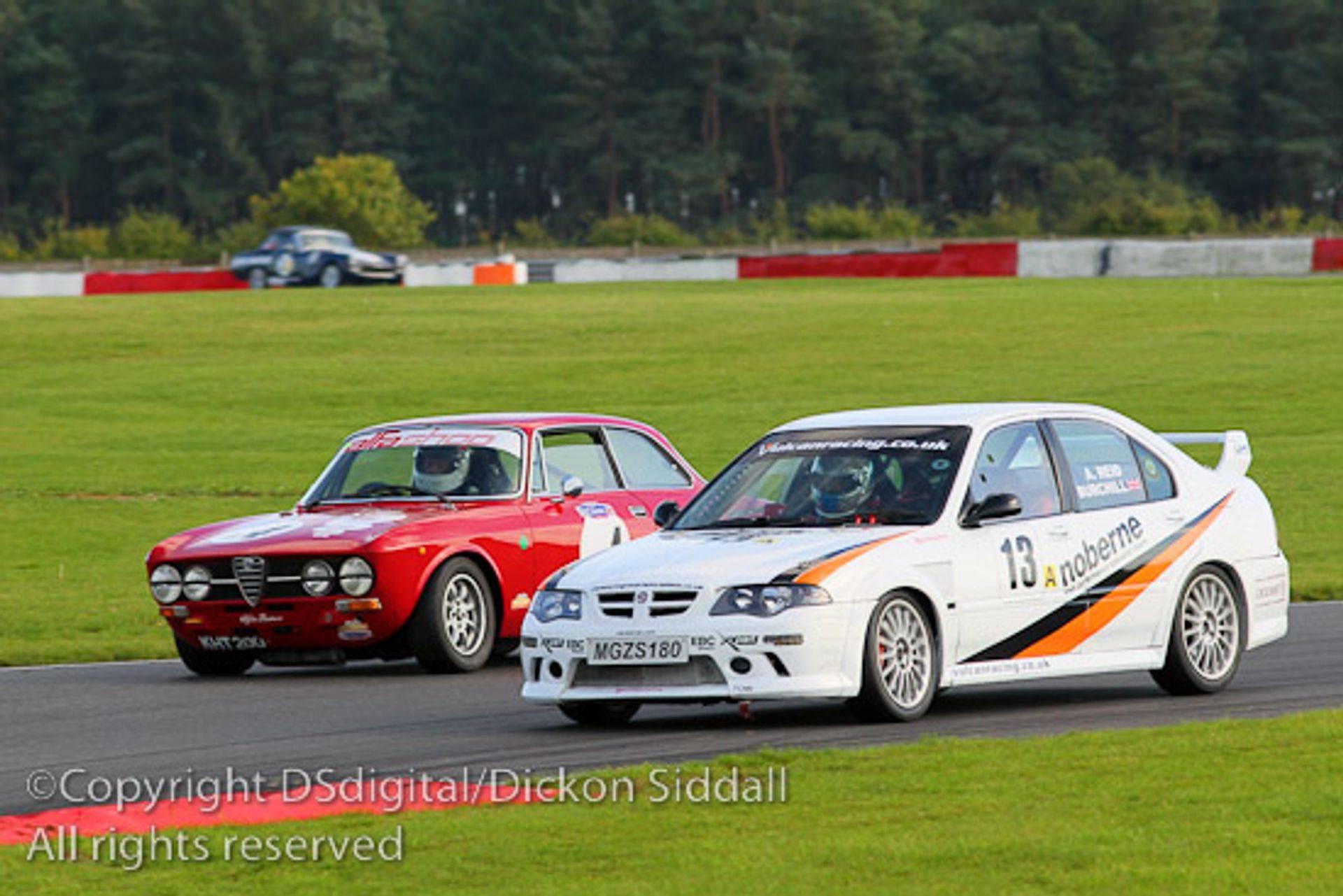 Vuclan Racing MGZS V6 Peter Burchill
