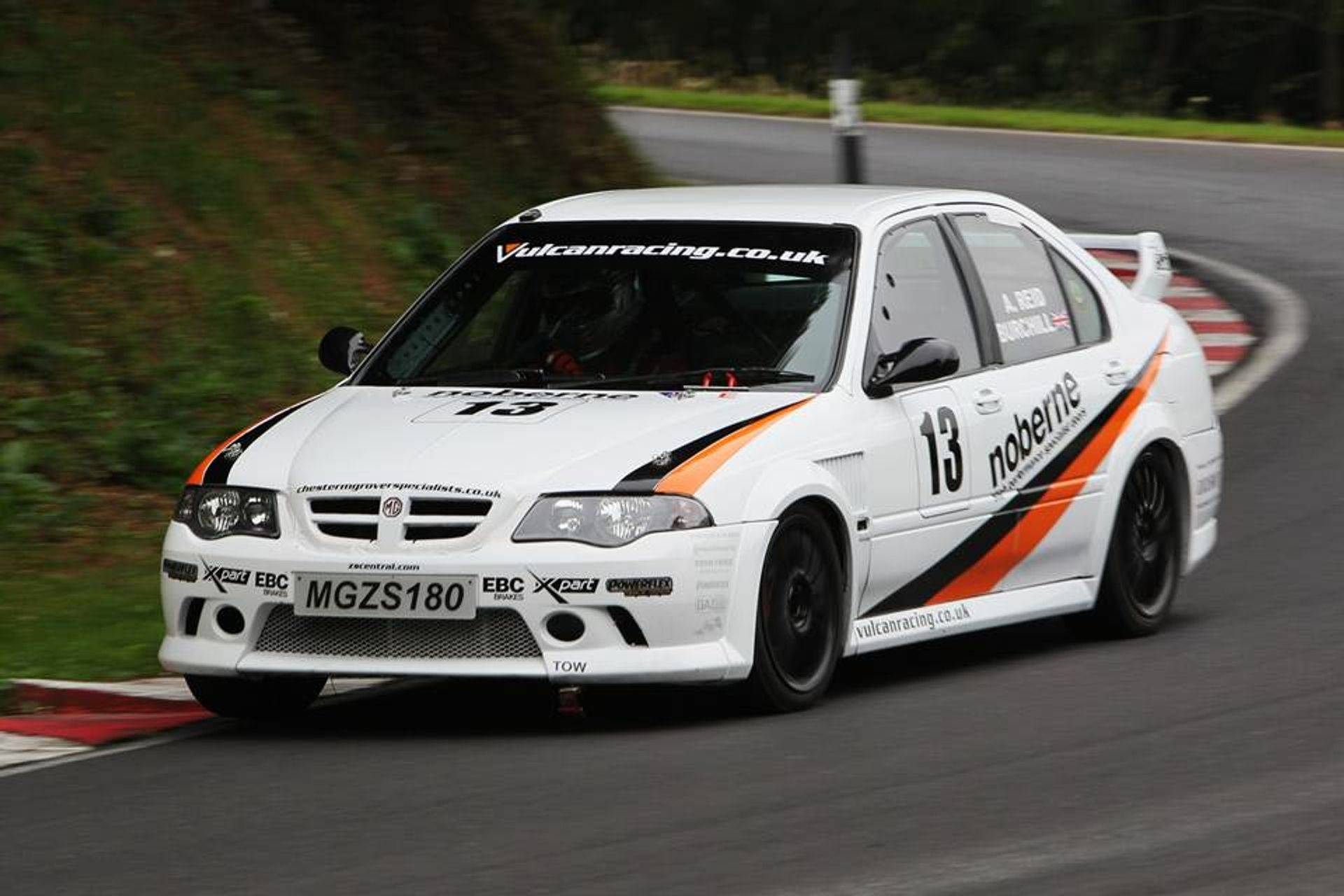 Vuclan Racing MGZS V6 Peter Burchill