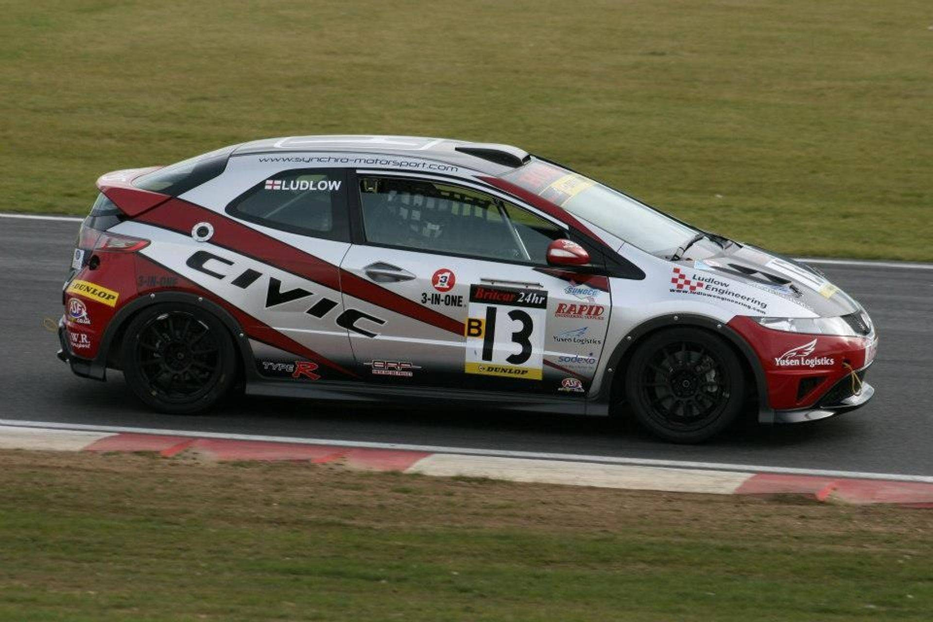 Vulcan Racing Dan Ludlow Honda Civic