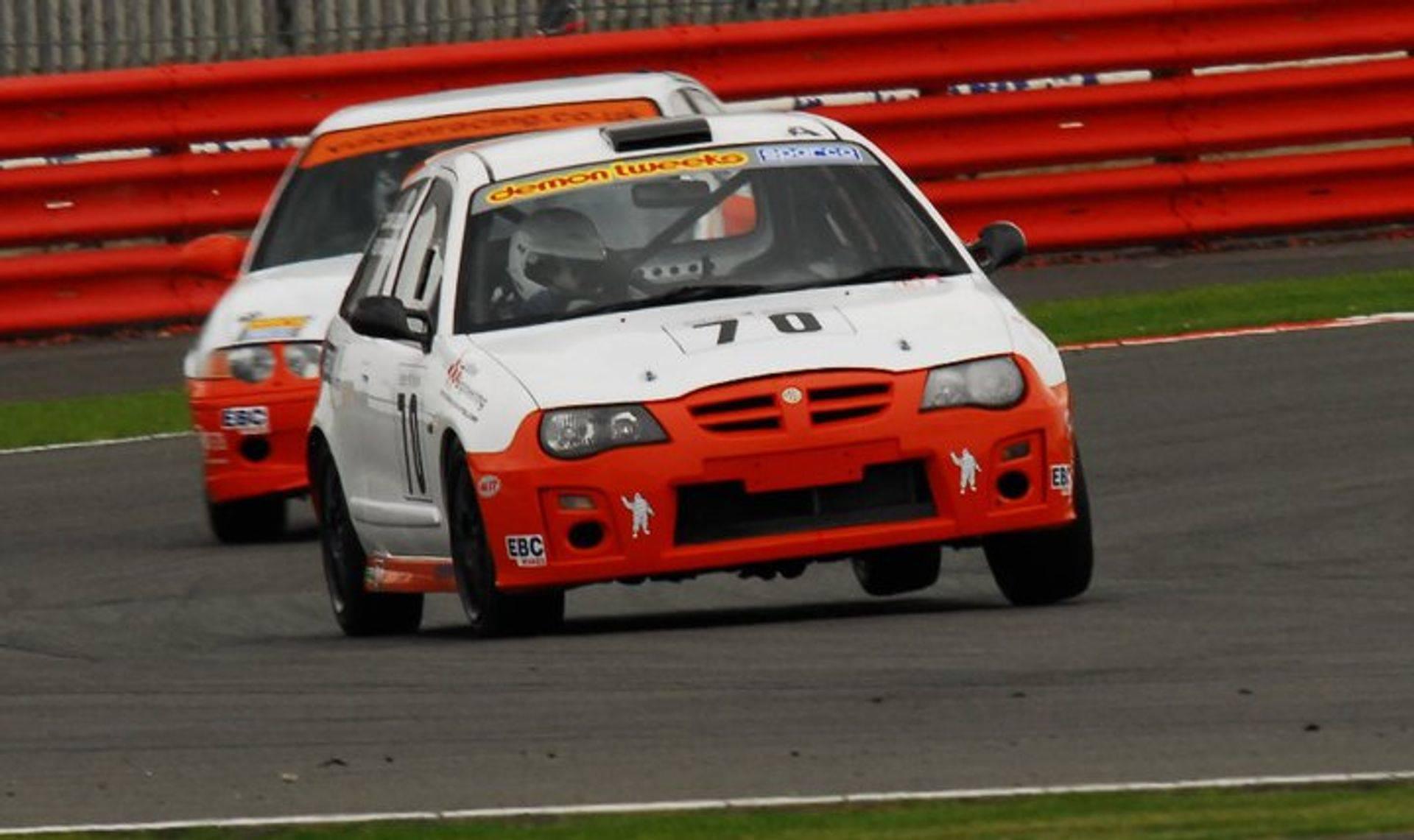 Burchill Ludlow MGCC Champions Vulcan Racing ZR190 ZS 180