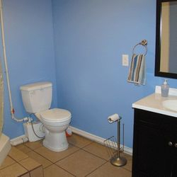 Huge 3/4 Bath in Lower Level