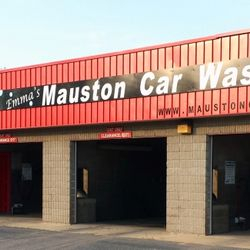 Emma's Mauston Car Wash Sign Vinyl Mauston, WI Vehicle