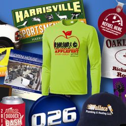 Custom Apparel Screen Printing Sports Schools Businesses