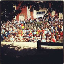 The chapter on Bid Day 2012