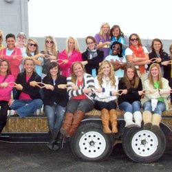 2012 Alpha Class ready to ride in the Homecoming Parade.