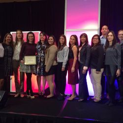 Paul R. Wright Chapter Success Award at AMSA's 2015 Annual Convention in Washington, D.C.