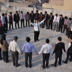 ABTS  NEW DELHI, RESIDENTIAL -REGULAR STUDENTS PRAYING FOR INDIA AND THE WHOLE WORLD IN JESUS NAME!
