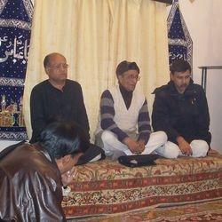 Syed Zuhair Abbas Zaidi Sahab at Imambarah Musi Raza......