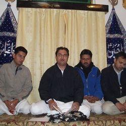 Syed Asad Raza Abedi Sahab at Imambarah Musi Raza ...