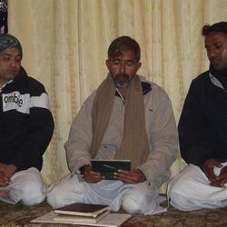 Syed Naseer Haider Abedi Sahab at Imambarah Musi Raza......