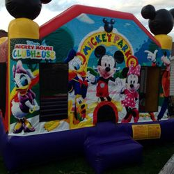 Licensed Disney Mickey Mouse Club House Bounce