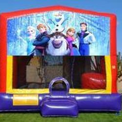 New Frozen Bounce House