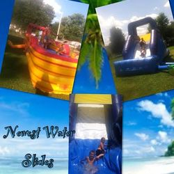 Stay Cool With our Water Slides